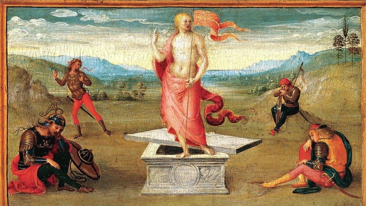 'The Resurrection' by Perugino