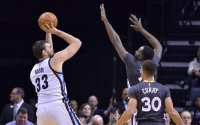 Siete jugadores de Memphis alcanzaron doble dígitos.