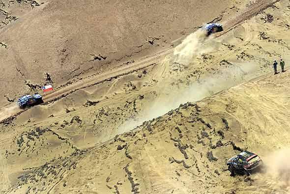 El Dakar 2011, en la categoría autos, tiene a los tres favoritos...
