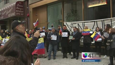 La comunidad venezolana en NY se une por la Toma de Venezuela