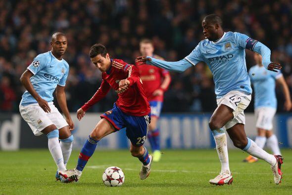 El Manchester City recibió al CSKA ruso pensando en sacar los tres punto...