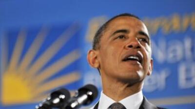 El presidente Obama culpa a los republicanos de poner palos en la rueda...