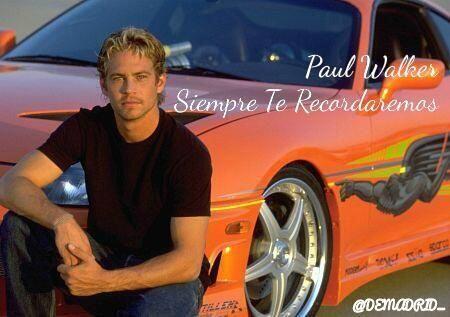 Paul Walker nació en Glendale, 12 de septiembre de 1973 y fue con...