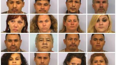 Arrestan a decenas por prostitución
