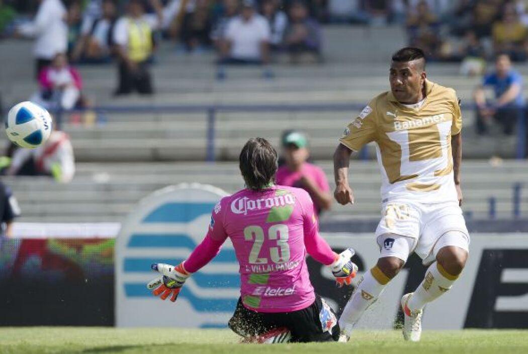 Daniel Ludueña debutó en liga con Pumas, tuvo un buen partido aunque sal...