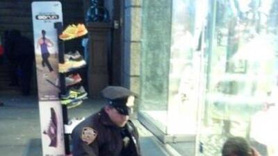 Larry DePrimo, un oficial de la policía de Nueva York asignado al precin...
