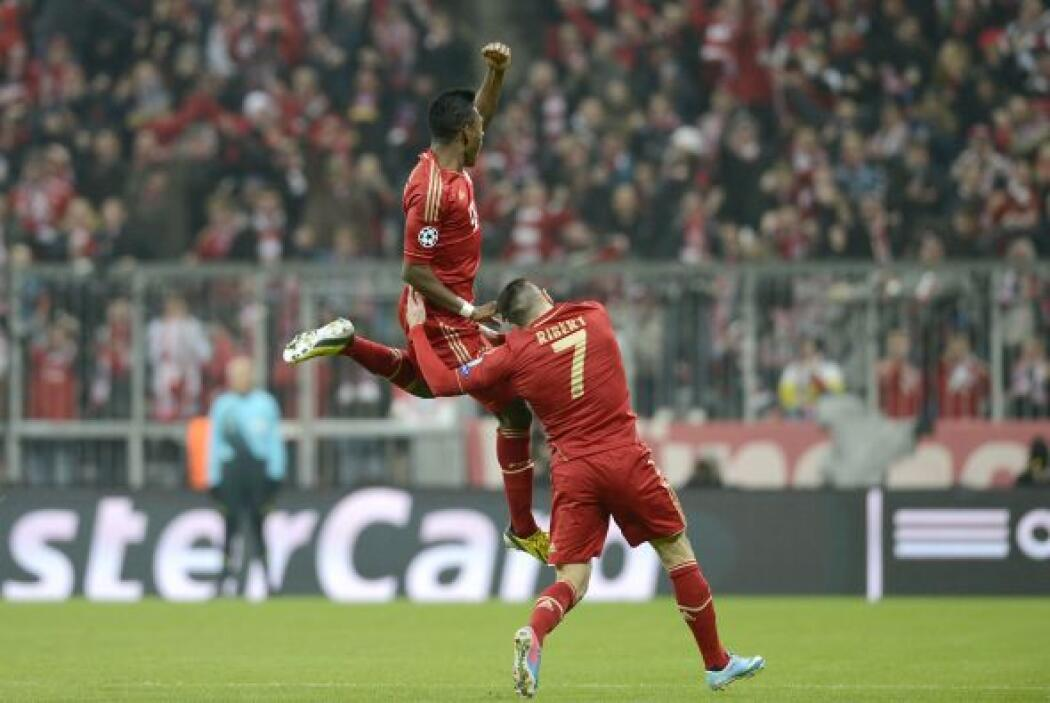 Alaba tardó menos de un minuto para adelantar al Bayern de Múnich ante J...