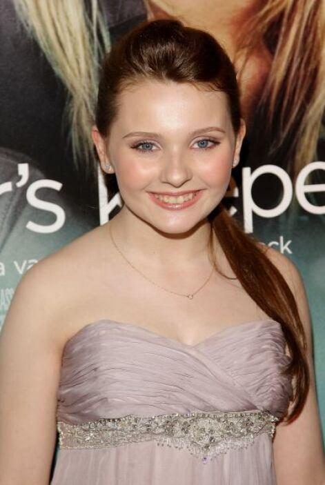 """Breslin actuó con Cameron Diaz en """"My Sister's Keeper"""" en 2009.  Aquí lo..."""
