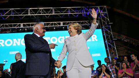"""Vicente Fernández: """"Hillary me ganó con su cariño y su forma de ser"""""""