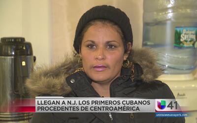 Refugiados cubanos llegan a Nueva Jersey