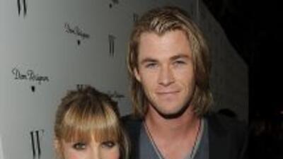 La actriz española tendrá un hijo con uno de los galanes más guapos de H...