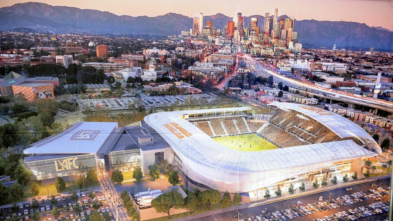 Conoce un poco más del estadio del LAFC