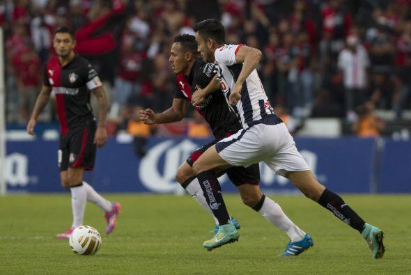 Desde los primeros minutos del partido, Monterrey salió a buscar los gol...