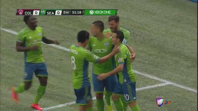 Los Seattle Sounders lograron la victoria por 1-0 ante los Colorado Rapids