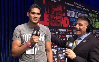 Gilberto 'Zurdo' Ramírez pone su dinero a Jessie Vargas sobre Manny Pacq...