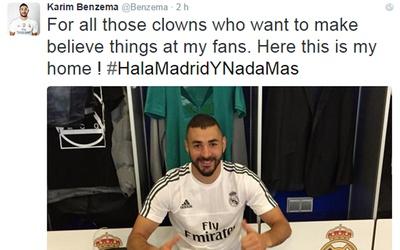 """Benzema : """"¡Esta es mi casa!"""""""