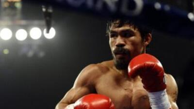 Manny Pacquiao considera que su mejor opción es pelear con Mayweather.