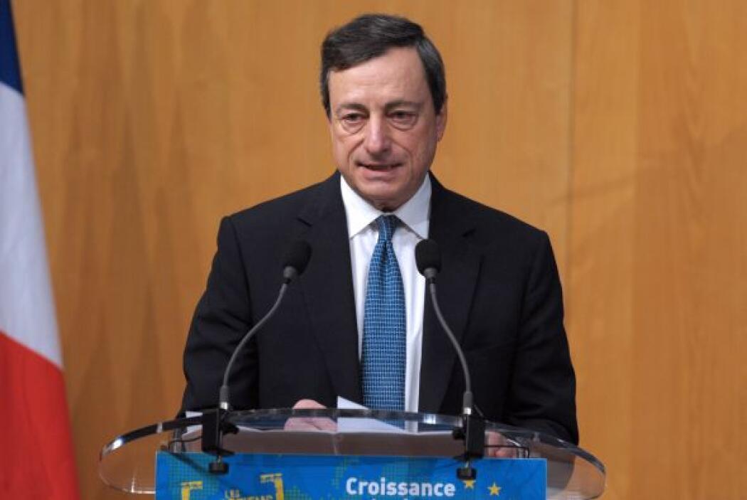 8. MARIO DRAGHI  Puesto- Presidente del Banco Central Europeo.  Organiza...