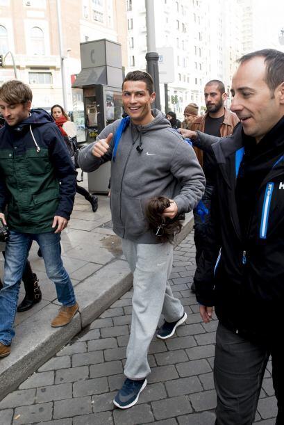 El futbolista del Real Madrid dejó boquiabiertos a todos.