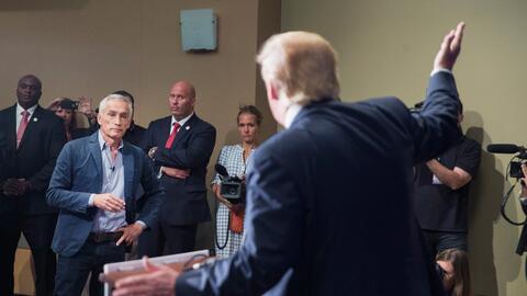 Jorge Ramos y Trump
