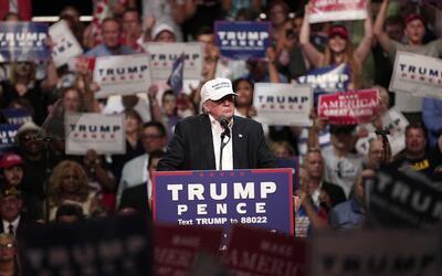Trump tiene el apoyo del 2% de los votantes negros, según un sond...