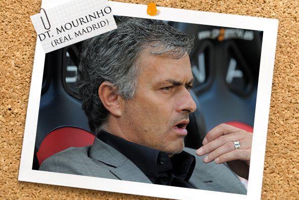 Nuestro equipo es dirigido por el portugués José Mourinho,...