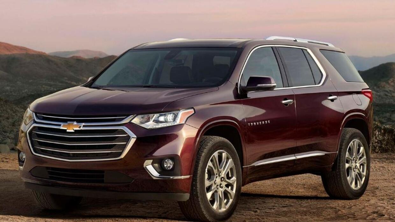 Presentan a la remodelada familiar americana en Detroit: La Chevrolet Tr...