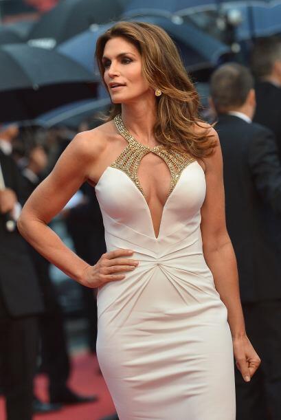 En 2013 dejó a todos con la boca abierta al posar con este vestido blanco.