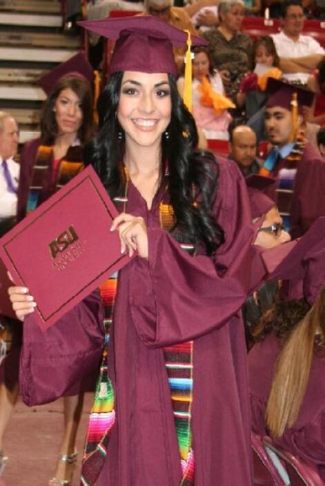 Graduación de la Universidad Estatal de Arizona.