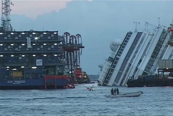El Costa Concordia es un barco crucero de la clase Concordia propiedad d...