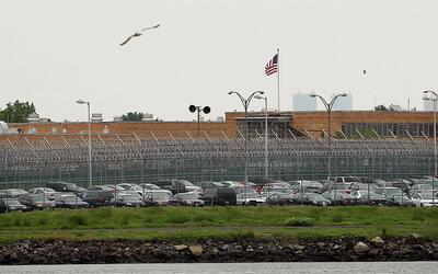 En este complejo penitenciario hay actualmente alrededor de 7,300 presos...
