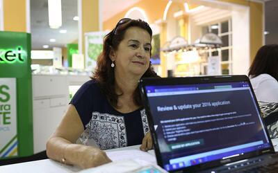 Las inscripciones para obtener cobertura médica en 2017 con un pl...
