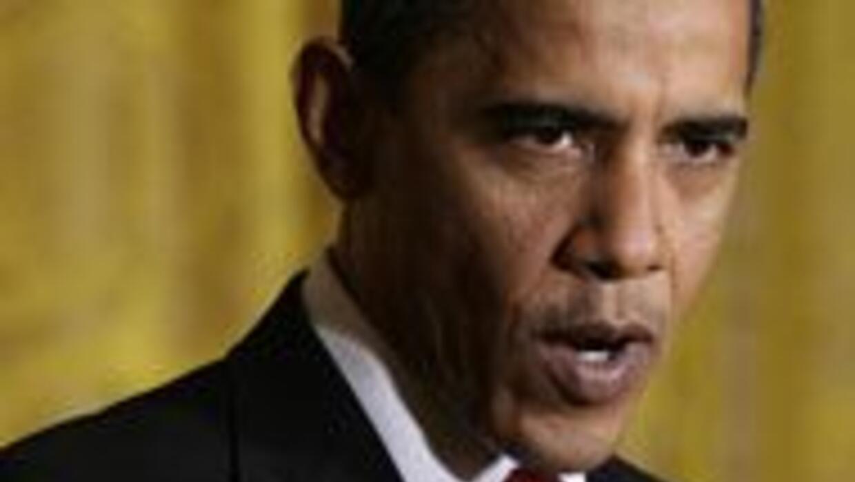 Como parte de su gira a los lugares más afectados por la crisis, Obama h...
