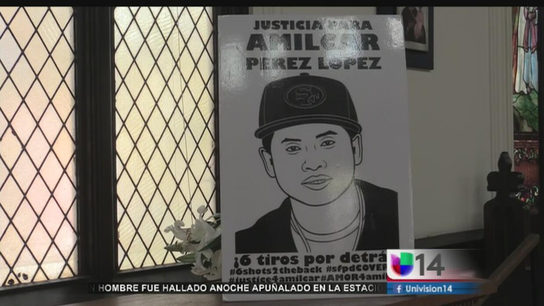 Activistas presionan para que se resuelva el caso de Amílcar Pérez