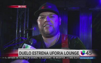¡Duelo inaugura el Uforia Lounge!