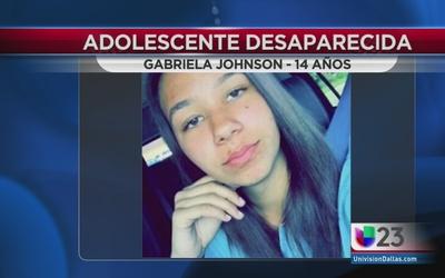 Buscan a adolescente desaparecida