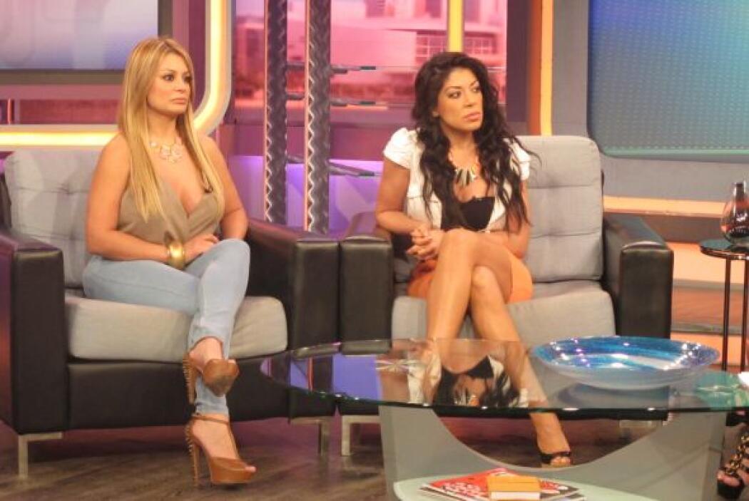 Marisol y Vicky Terrazas estuvieron como invitadas especiales en el prog...