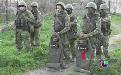 Ejército Ruso desplaza a Ucranianos por la fuerza