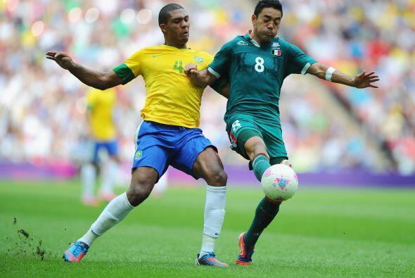 Para Londres 2012 los brasileños ganaron sus tres encuentros de la prime...