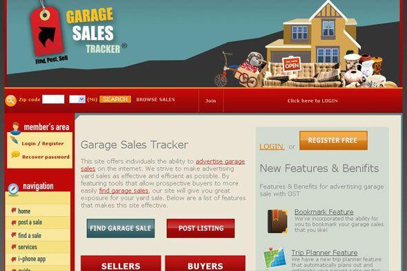 GARAJE SALE TRACKER - Localiza ventas de garaje, mercados de pulgas y ti...