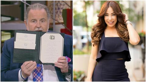 Raúl de Molina ya recibió la invitación a la boda de Gelena Solano y tie...