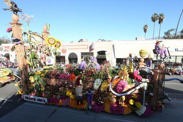 Vistas del Desfile de las Rosas