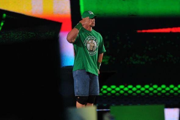 John Cena estaba firme para hacer infructuoso este regreso de The Rock.