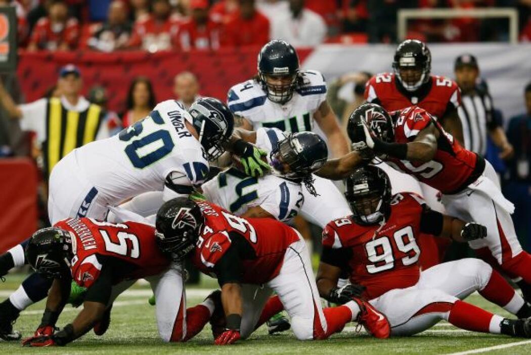 Con el tiempo encima, Seattle tuvo la ventaja de un punto y con segundos...