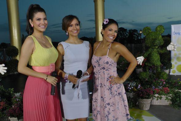 Ana María, Satcha y Karlita se pusieron muy guapas para en este día inol...