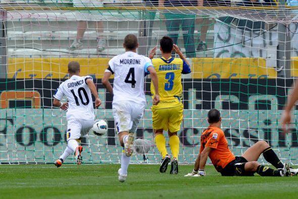 El que tuvo un buen resultado como local fue el Parma en su juego ante C...