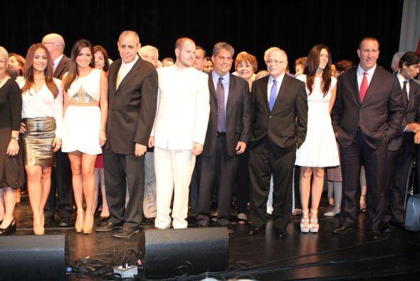El éxito profesional y los logros alcanzados por latinos, fueron plasmad...