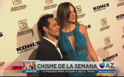 ¡Marc Anthony se nos casa!