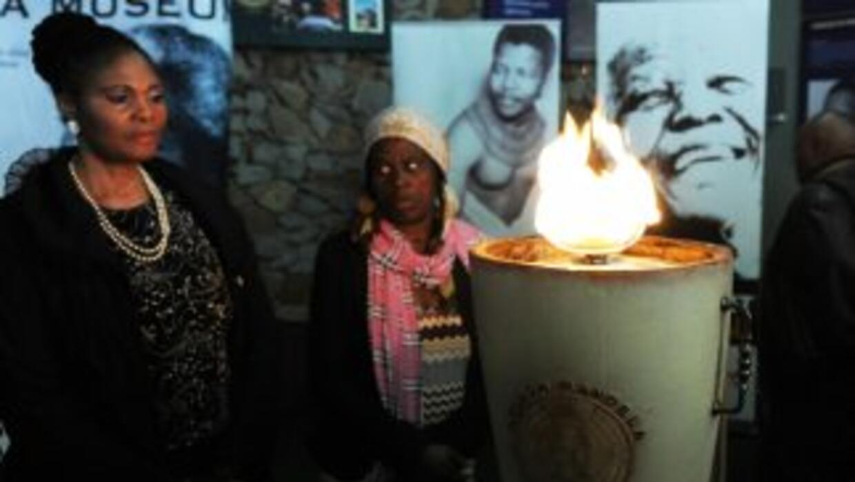 En Qunu, el pueblo sudafricano donde Mandela pasó su infancia, los habit...