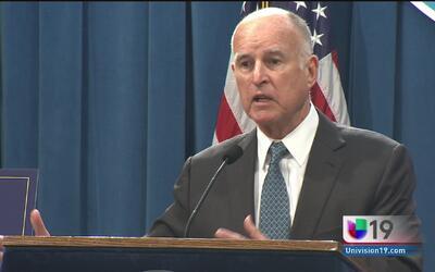 Jerry Brown presentó el presupuesto anual de California